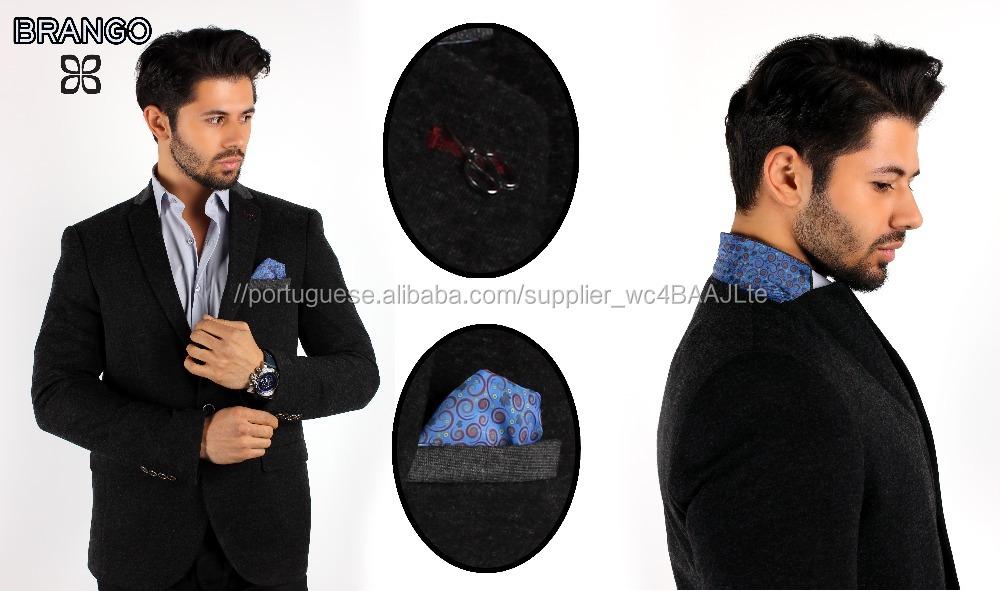Homens Slim Fit Blazer/Casaco Para O Inverno