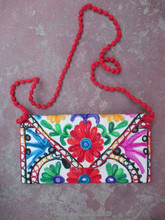 beautiful designer handmade Embroidered kutchi works stylish Indian banjara vintage tribal clutch bags