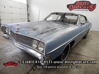 1968 Ford Galaxie 500 Fastback RunsDrives BodyInterior Fair Good Project Car - See more at: www.dustyoldcars.com