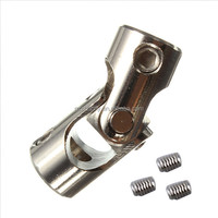 1pc New Stainless Steel Small Cross Universal Joint 4mm Suitable for Reinforced Concrete Marine Brushless Motor