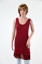 new autumn winter 2015 sleeveless winter dress art sd007 made in italy