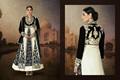 diseñador clásico semi- cosido señoras traje salwar y kurti