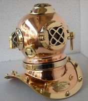 US Navy Antique Diving Helmet Divers Helmet for Home Decor
