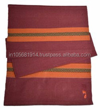 Mysore Cotton Yoga Practice rugs in cotton made in India for OEM/Private Label