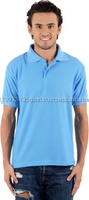Made in Vietnam men's clothing with 100%cotton polo t shirt for men