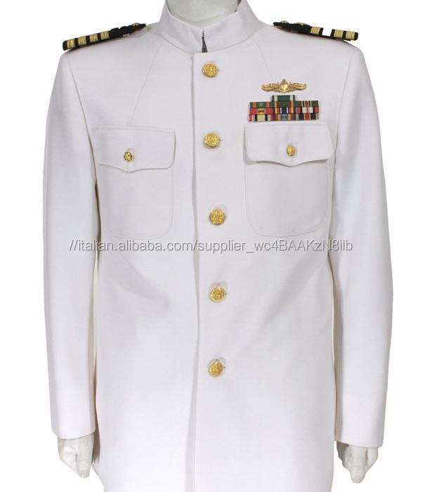 US Navy ufficiali vestito bianco <span class=keywords><strong>uniforme</strong></span>/RAF <span class=keywords><strong>uniforme</strong></span> dell'esercito/<span class=keywords><strong>ufficiale</strong></span> Militare <span class=keywords><strong>uniforme</strong></span>
