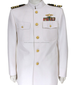 US Navy ufficiali vestito bianco uniforme/RAF uniforme dell'esercito/ufficiale Militare uniforme