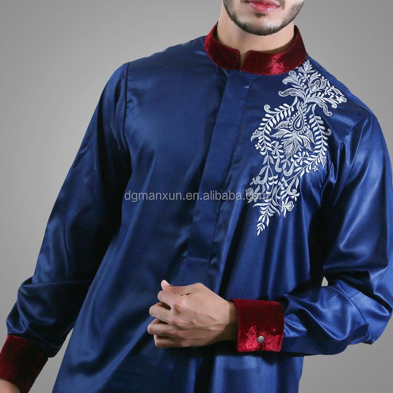 modern islamic clothing embroidered mens thobe (5).jpg