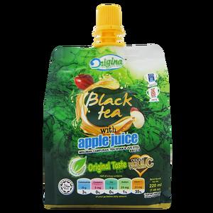 220 ملليلتر الشاي الأسود مع التفاح عصير زائد فيتامين ج