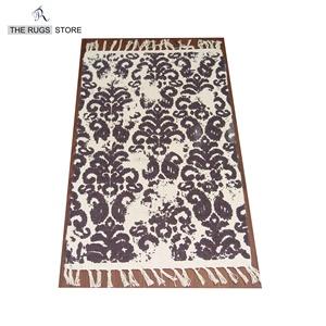 Ấn độ rajasthan dhurrie thảm TRS-25 cotton ngà màu ấn độ tay dệt thảm